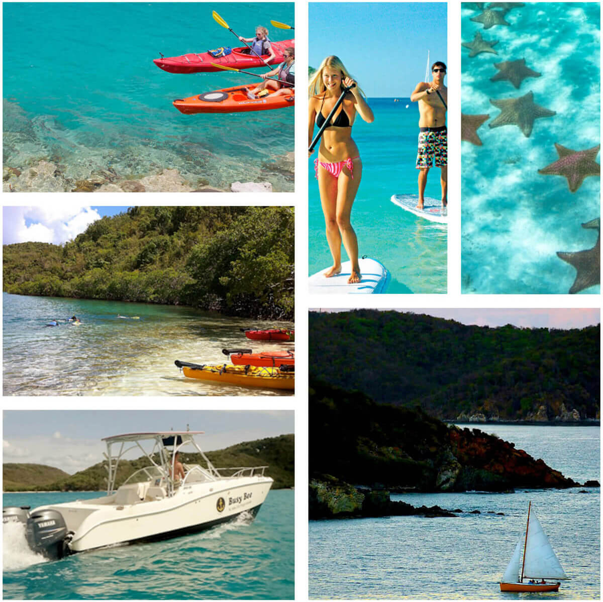 Boating on St John USVI