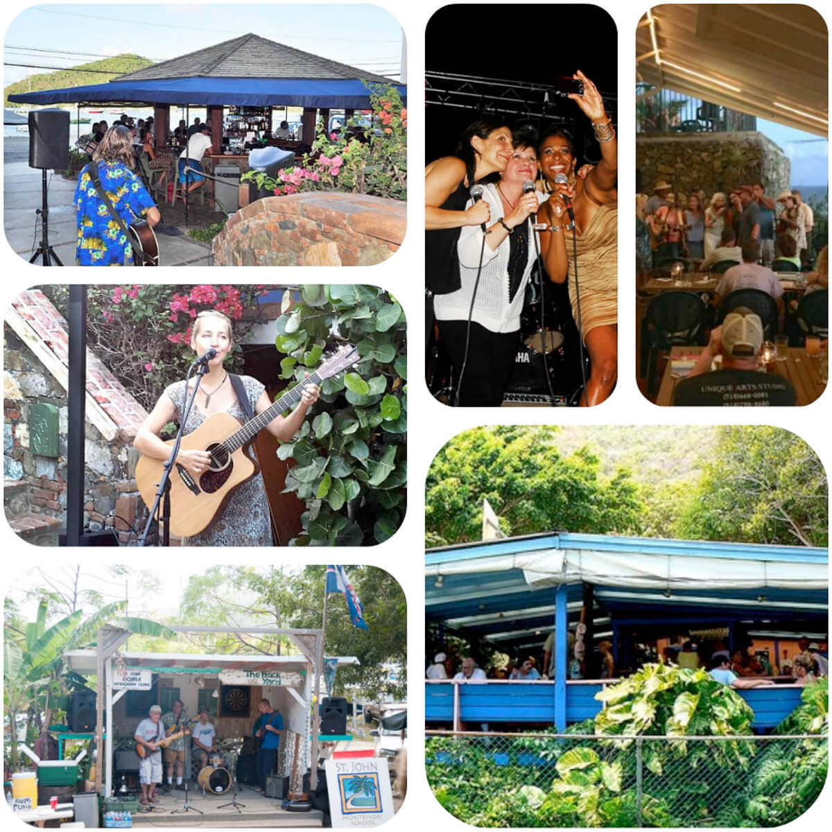 Music and Fun in Coral Bay, St John