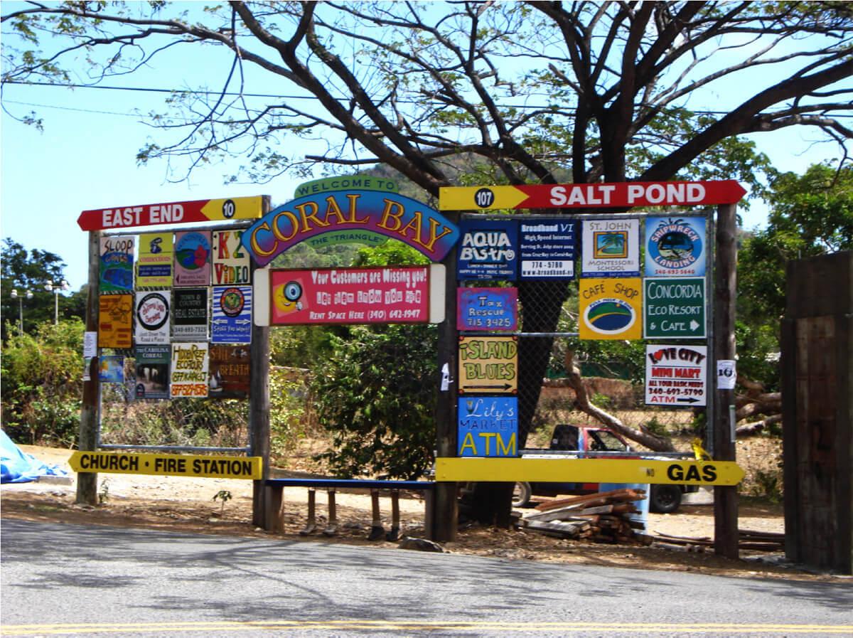 Coral Bay Signs