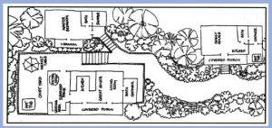 Coral bay st john windwardside guest cottage calabash for Calabash cottage floor plan