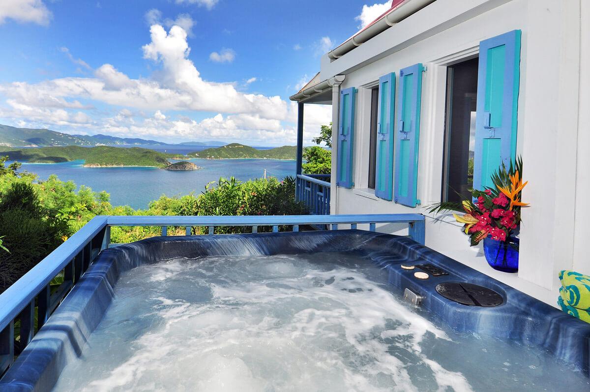 Sago Cottage Hot Tub