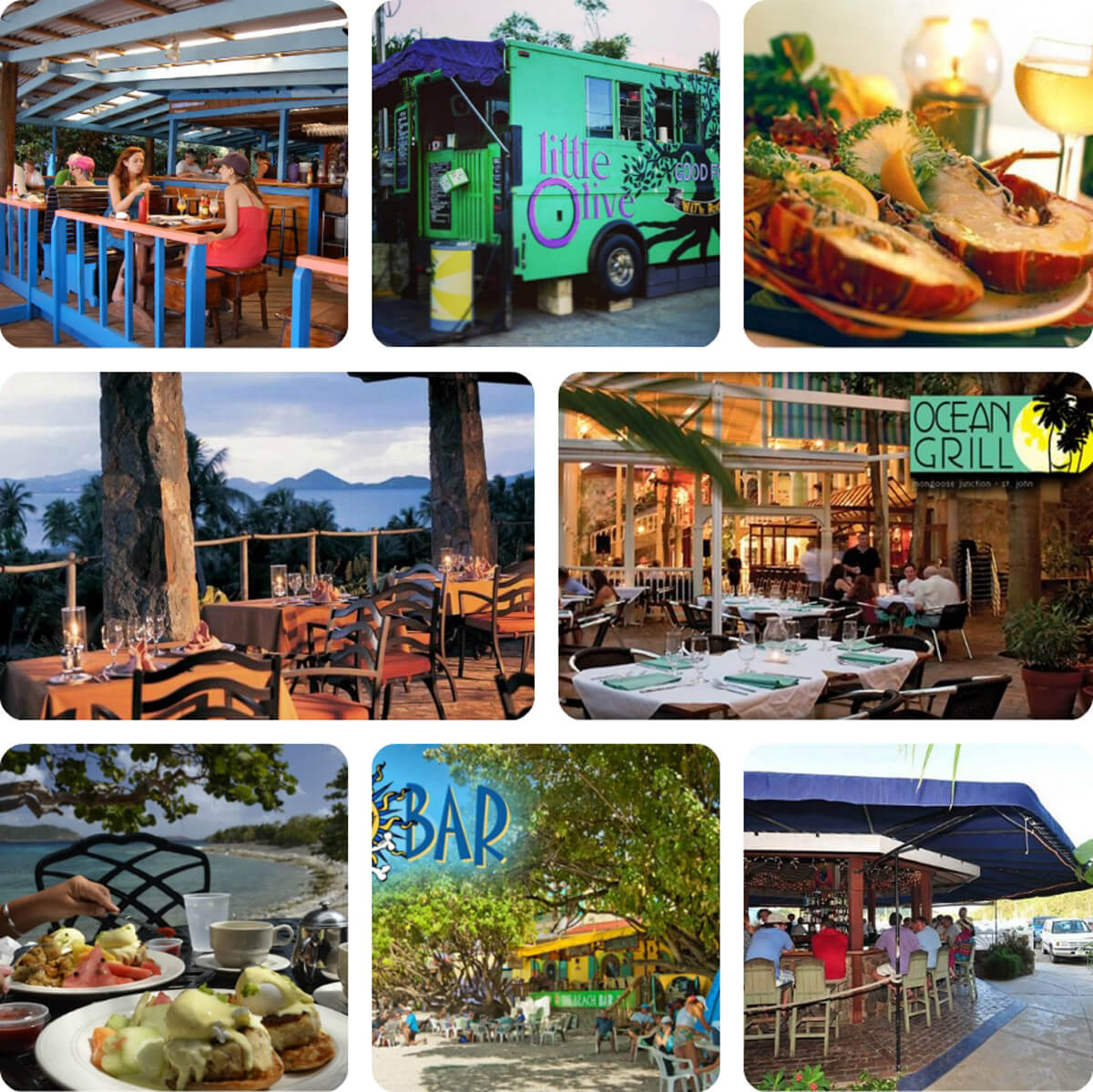 Restaurants on St John