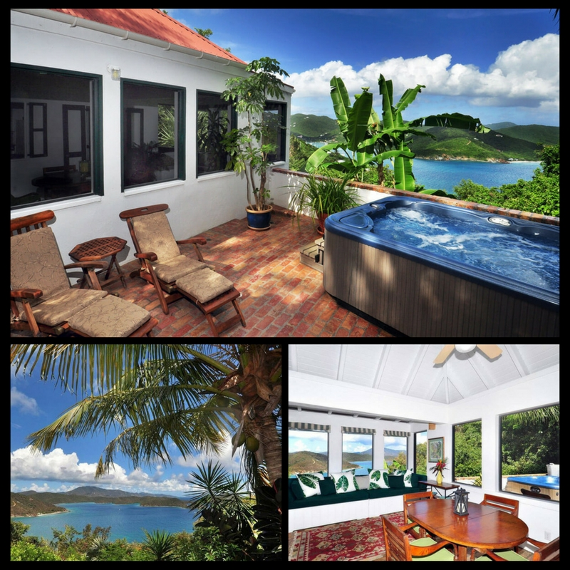 Private villa Coral Bay St. John