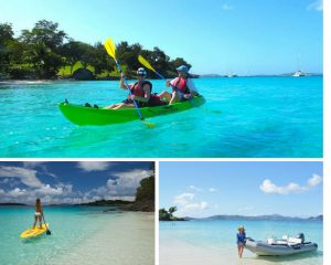 Eco Friendly Day Trip, St John Virgin Islands