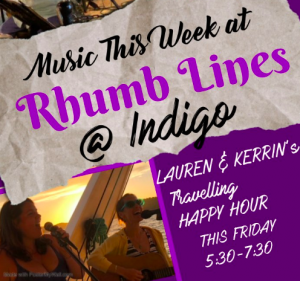 Lauren and Kerrin @ Rhumb Lines