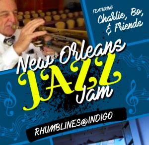 Jazz Jam with Bo & Charlie @ Rhumblines @ Indigo Grill