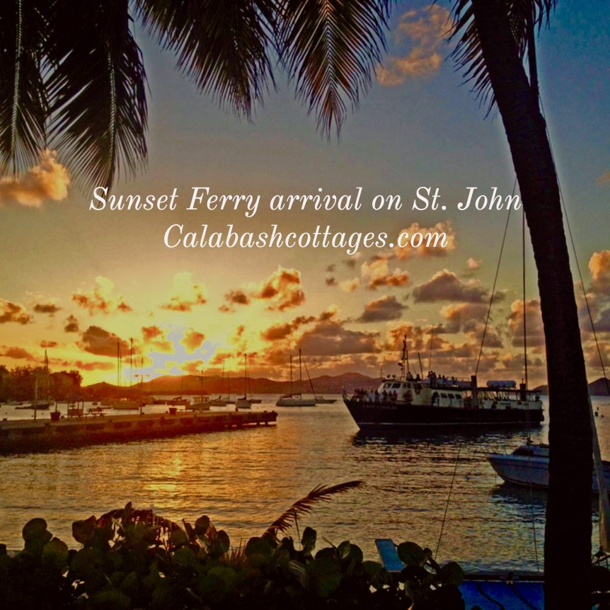 Ferry Arrival St. John Virgin Islands