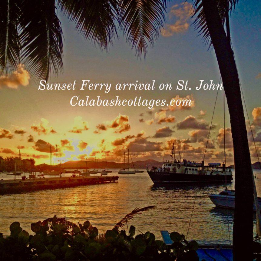 Ferry Arrival St. John Virgin Islands