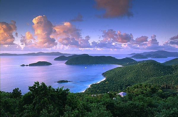 St. John Virgin Islands activities: Sunset ideas/ romantic date