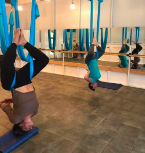 Aerial Yoga: Mixed Levels @ St. John Marketplace (second floor)