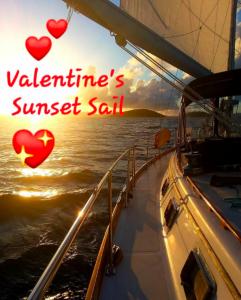 Valentines Day Sunset Sail
